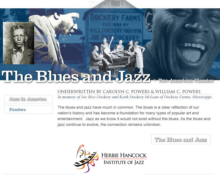 The Blues and Jazz